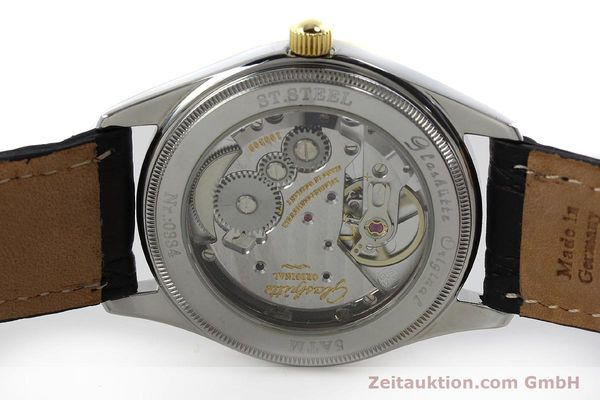 Used luxury watch Glashütte Senator steel / gold manual winding Kal. GUB 12-50  | 152203 09