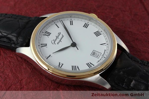 Used luxury watch Glashütte Senator steel / gold manual winding Kal. GUB 12-50  | 152203 13