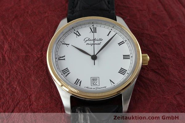 Used luxury watch Glashütte Senator steel / gold manual winding Kal. GUB 12-50  | 152203 14
