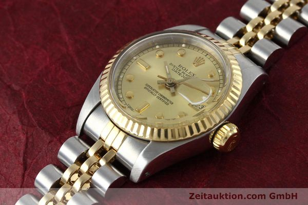 montre de luxe d occasion Rolex Datejust acier / or  automatique Kal. 2135 Ref. 69173  | 152205 01