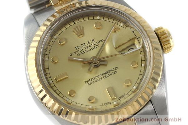 montre de luxe d occasion Rolex Datejust acier / or  automatique Kal. 2135 Ref. 69173  | 152205 02