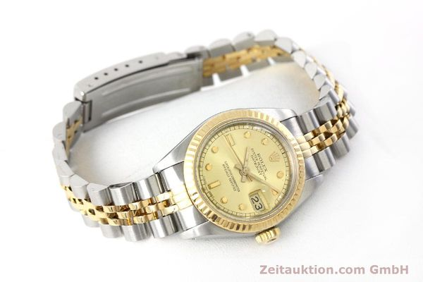 montre de luxe d occasion Rolex Datejust acier / or  automatique Kal. 2135 Ref. 69173  | 152205 03