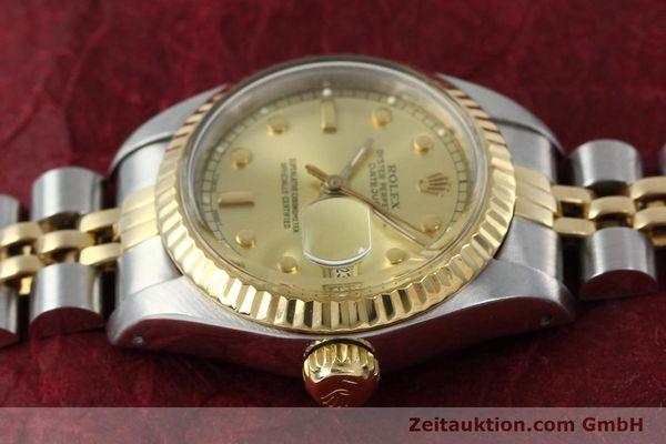 montre de luxe d occasion Rolex Datejust acier / or  automatique Kal. 2135 Ref. 69173  | 152205 05