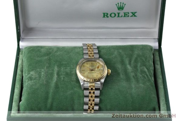 montre de luxe d occasion Rolex Datejust acier / or  automatique Kal. 2135 Ref. 69173  | 152205 07