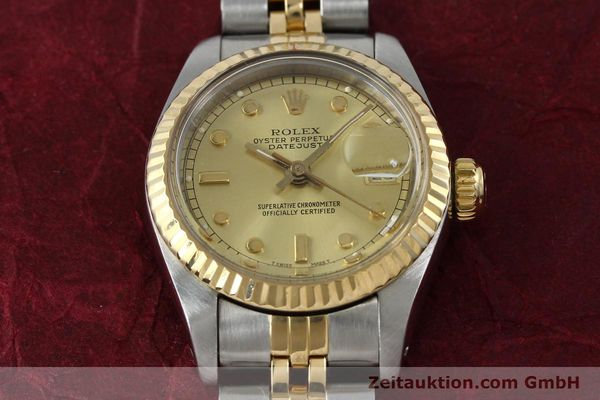 montre de luxe d occasion Rolex Datejust acier / or  automatique Kal. 2135 Ref. 69173  | 152205 18