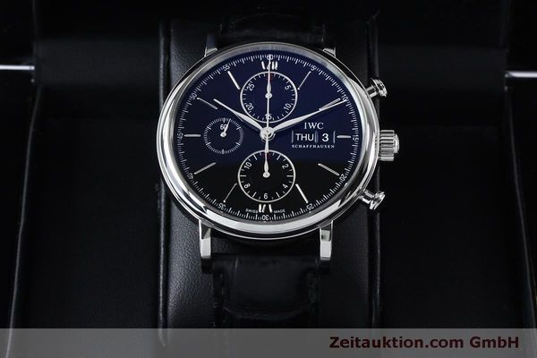 Used luxury watch IWC Portofino chronograph steel automatic Kal. 79320 Ref. 3910  | 152208 07