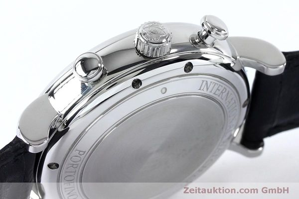 Used luxury watch IWC Portofino chronograph steel automatic Kal. 79320 Ref. 3910  | 152208 08