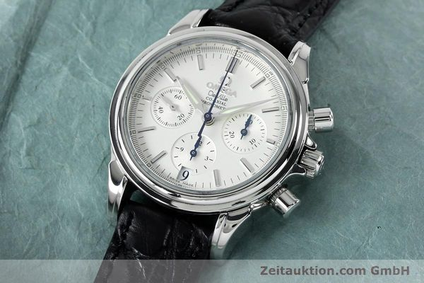 Used luxury watch Omega De Ville chronograph steel automatic Kal. 3313  | 152210 01