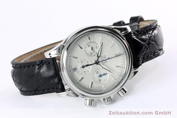Used luxury watch Omega De Ville chronograph steel automatic Kal. 3313  | 152210 03