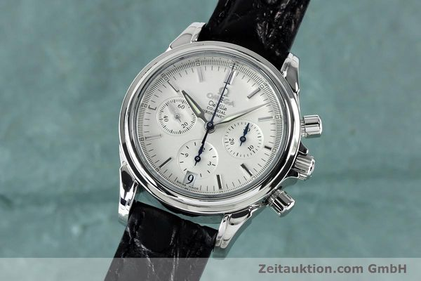 Used luxury watch Omega De Ville chronograph steel automatic Kal. 3313  | 152210 04