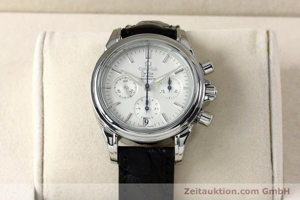 Used luxury watch Omega De Ville chronograph steel automatic Kal. 3313  | 152210 07