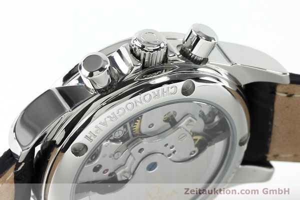 Used luxury watch Omega De Ville chronograph steel automatic Kal. 3313  | 152210 08