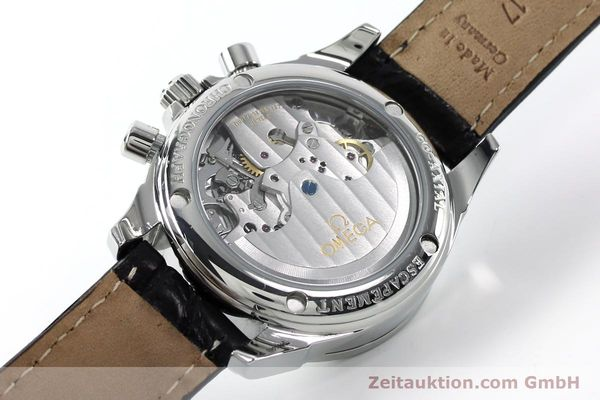 Used luxury watch Omega De Ville chronograph steel automatic Kal. 3313  | 152210 10