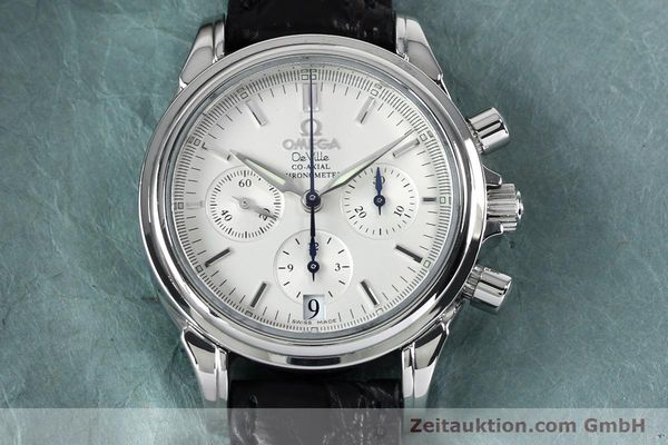 Used luxury watch Omega De Ville chronograph steel automatic Kal. 3313  | 152210 13