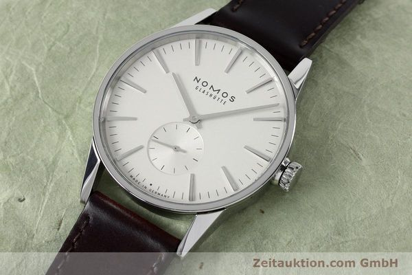 Used luxury watch Nomos Zürich steel automatic Kal. Epsilon 16431  | 152216 01