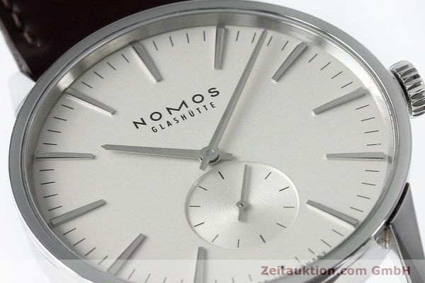Used luxury watch Nomos Zürich steel automatic Kal. Epsilon 16431  | 152216 02
