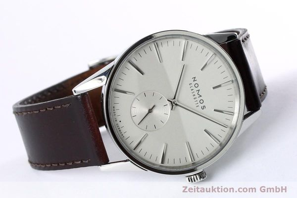 Used luxury watch Nomos Zürich steel automatic Kal. Epsilon 16431  | 152216 03