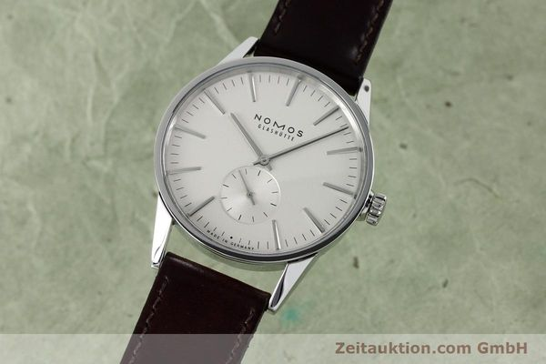 Used luxury watch Nomos Zürich steel automatic Kal. Epsilon 16431  | 152216 04