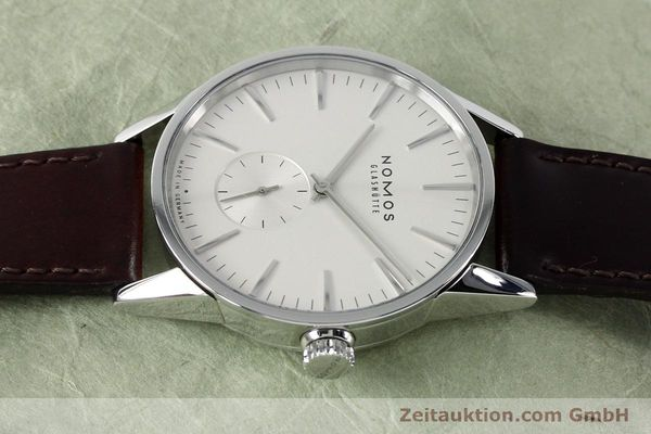 Used luxury watch Nomos Zürich steel automatic Kal. Epsilon 16431  | 152216 05