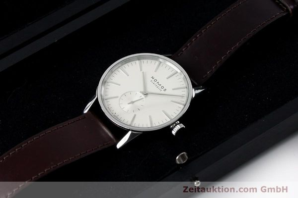 Used luxury watch Nomos Zürich steel automatic Kal. Epsilon 16431  | 152216 07