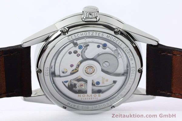 Used luxury watch Nomos Zürich steel automatic Kal. Epsilon 16431  | 152216 10