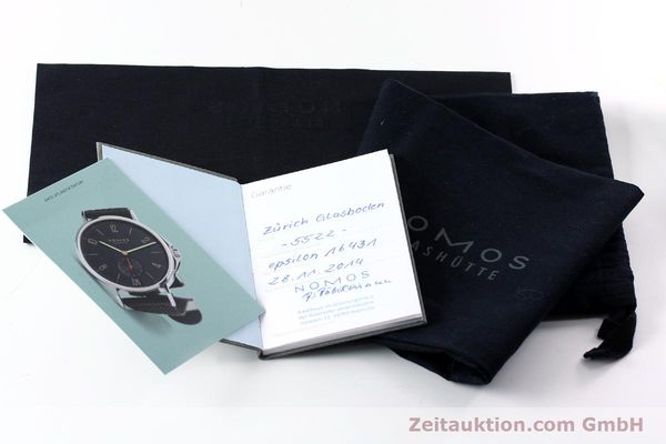 Used luxury watch Nomos Zürich steel automatic Kal. Epsilon 16431  | 152216 12