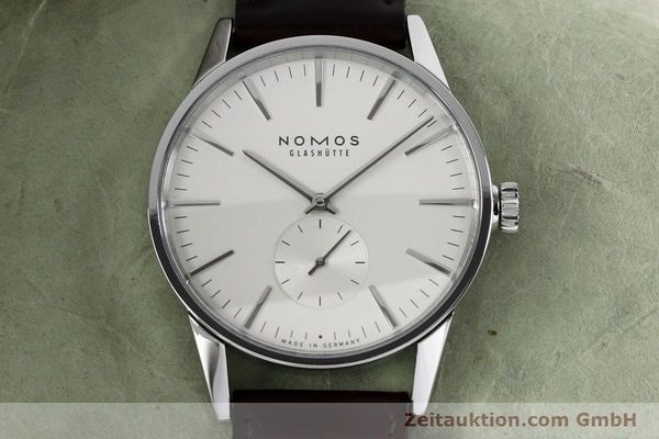 Used luxury watch Nomos Zürich steel automatic Kal. Epsilon 16431  | 152216 16