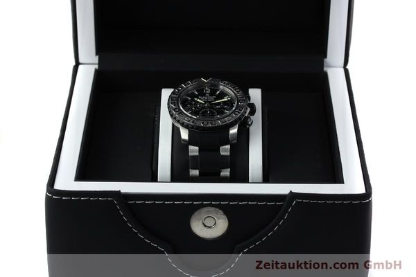 Used luxury watch Blancpain Air Command chronograph steel automatic Kal. F185  | 152220 07