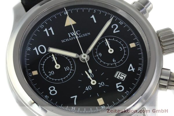 Used luxury watch IWC Fliegerchronograph chronograph steel quartz Kal. 630 Ref. 3741  | 152225 02