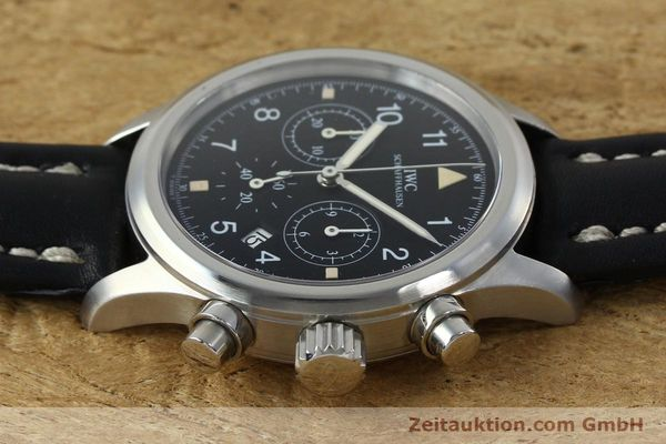 Used luxury watch IWC Fliegerchronograph chronograph steel quartz Kal. 630 Ref. 3741  | 152225 05