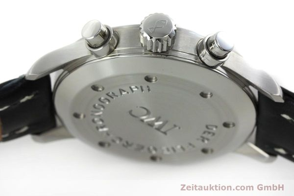 Used luxury watch IWC Fliegerchronograph chronograph steel quartz Kal. 630 Ref. 3741  | 152225 11
