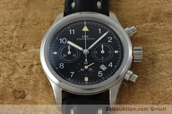 Used luxury watch IWC Fliegerchronograph chronograph steel quartz Kal. 630 Ref. 3741  | 152225 15