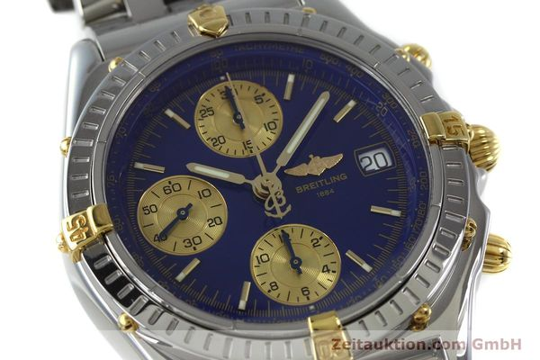 Used luxury watch Breitling Chronomat chronograph steel / gold automatic Kal. B13 ETA 7750 Ref. B13050.1  | 152229 02