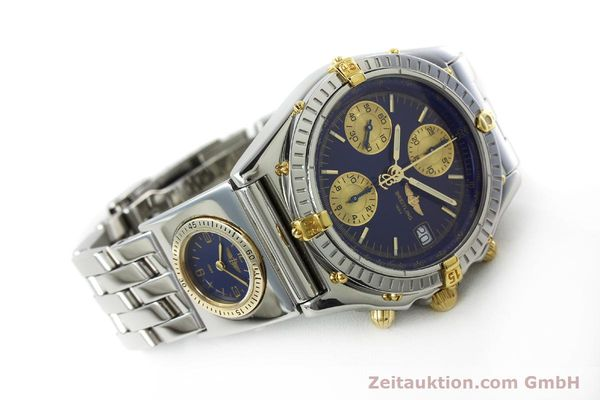 Used luxury watch Breitling Chronomat chronograph steel / gold automatic Kal. B13 ETA 7750 Ref. B13050.1  | 152229 03