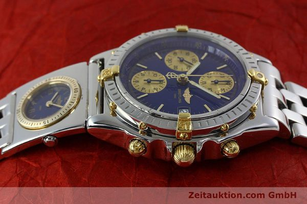 Used luxury watch Breitling Chronomat chronograph steel / gold automatic Kal. B13 ETA 7750 Ref. B13050.1  | 152229 05