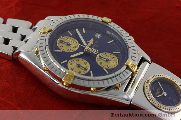 Used luxury watch Breitling Chronomat chronograph steel / gold automatic Kal. B13 ETA 7750 Ref. B13050.1  | 152229 13