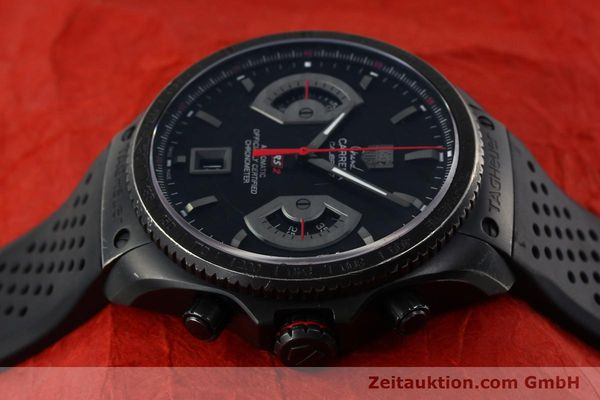 Used luxury watch Tag Heuer Carrera chronograph titanium automatic Kal. 17 ETA 2824-2 Ref. CAV518B  | 152231 05