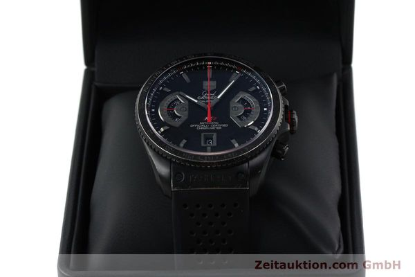 Used luxury watch Tag Heuer Carrera chronograph titanium automatic Kal. 17 ETA 2824-2 Ref. CAV518B  | 152231 07