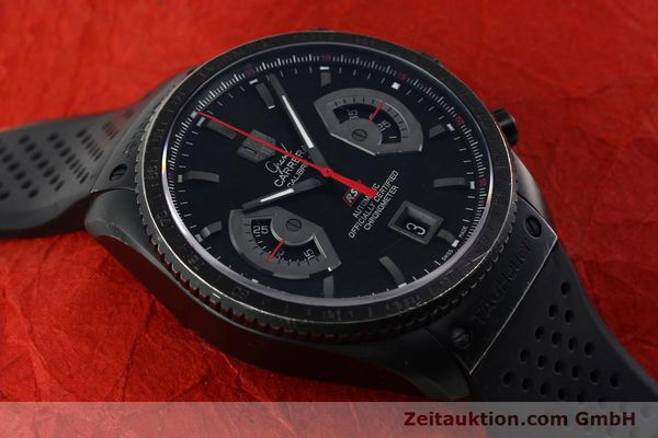 Used luxury watch Tag Heuer Carrera chronograph titanium automatic Kal. 17 ETA 2824-2 Ref. CAV518B  | 152231 14