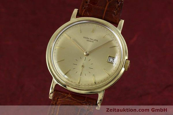 Used luxury watch Patek Philippe Calatrava 18 ct gold automatic Kal. 27-460M Ref. 3445  | 152232 04