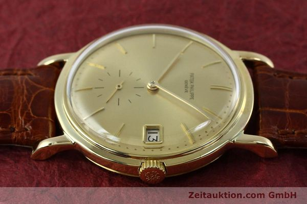 Used luxury watch Patek Philippe Calatrava 18 ct gold automatic Kal. 27-460M Ref. 3445  | 152232 05