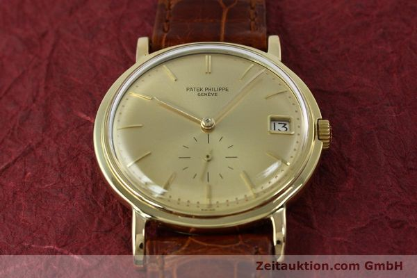 Used luxury watch Patek Philippe Calatrava 18 ct gold automatic Kal. 27-460M Ref. 3445  | 152232 15