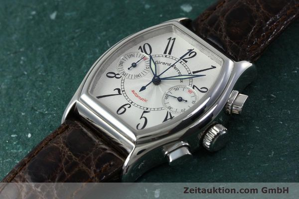 Used luxury watch Girard Perregaux Richeville chronograph steel automatic Kal. 2280-631 Ref. 2750  | 152236 01