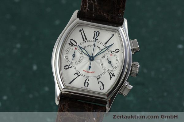 Used luxury watch Girard Perregaux Richeville chronograph steel automatic Kal. 2280-631 Ref. 2750  | 152236 04