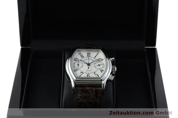 Used luxury watch Girard Perregaux Richeville chronograph steel automatic Kal. 2280-631 Ref. 2750  | 152236 07