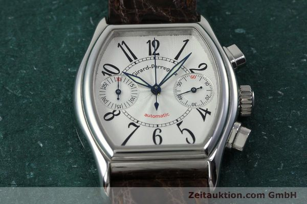 Used luxury watch Girard Perregaux Richeville chronograph steel automatic Kal. 2280-631 Ref. 2750  | 152236 16