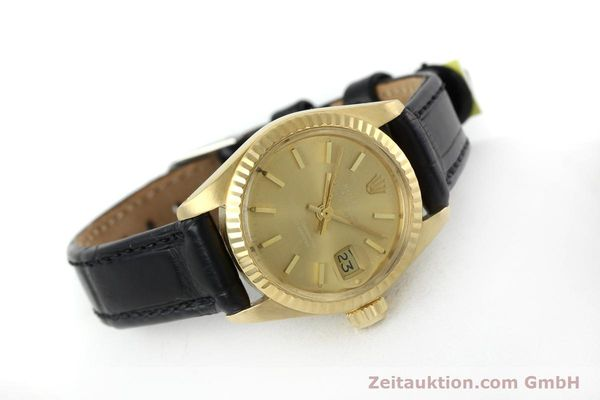 Used luxury watch Rolex Lady Datejust 18 ct gold automatic Kal. 2030 Ref. 6917  | 152239 03
