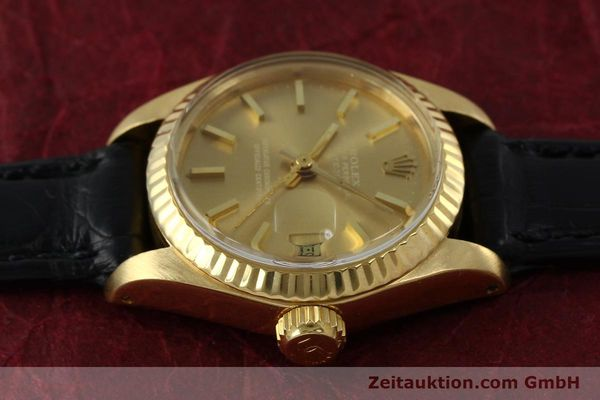 Used luxury watch Rolex Lady Datejust 18 ct gold automatic Kal. 2030 Ref. 6917  | 152239 05