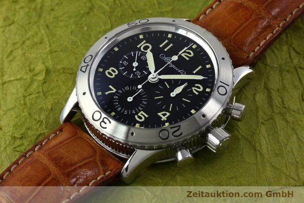 Used luxury watch Breguet Type XX chronograph steel automatic Kal. 582 Ref. 3800  | 152240 01