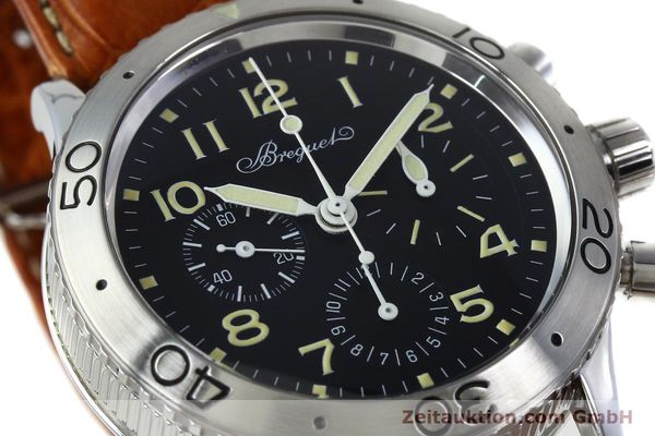 Used luxury watch Breguet Type XX chronograph steel automatic Kal. 582 Ref. 3800  | 152240 02